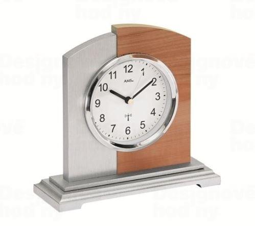Stolné hodiny 5146 AMS riadené rádiovým signálom 17cm