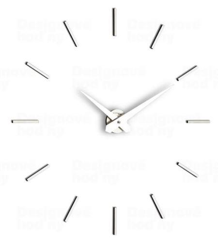 Dizajnové nástenné hodiny I200MB white IncantesimoDesign 90-100cm