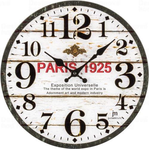 Dizajnové nástenné hodiny 14889 Lowell 34cm