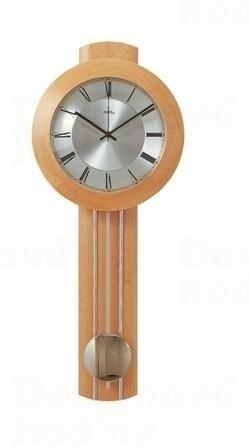 Kyvadlové nástenné hodiny 5132/18 AMS riadené rádiovým signálom 60cm