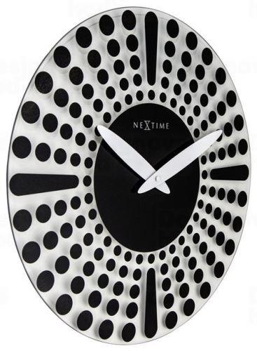 Dizajnové nástenné hodiny 8182zw Nextime Dreamtime 43cm