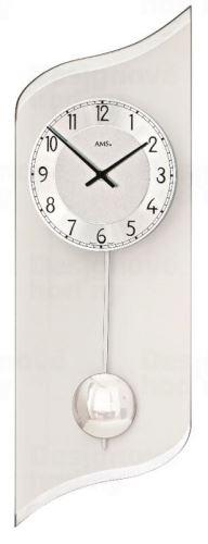 Nástenné kyvadlové hodiny 7436 AMS 55cm