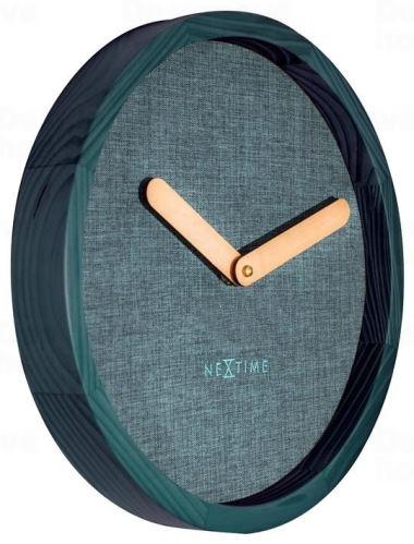 Dizajnové nástenné hodiny 3155tq Nextime Jeans Calm 30cm