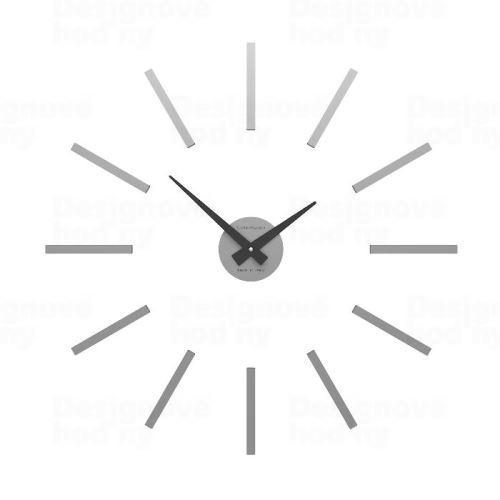 Dizajnové hodiny 10-301 CalleaDesign (viac farieb) Farba antracitová čierna - 4