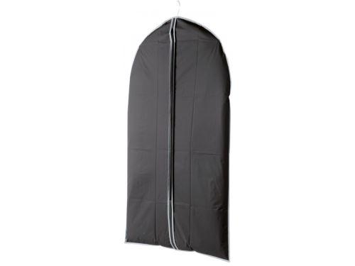 Obal na krátke šaty a obleky Compactor 60 x 100 cm - čierny