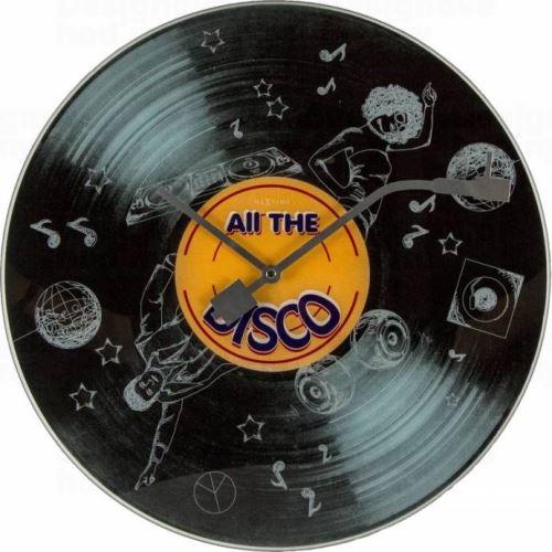 Dizajnové nástenné hodiny 8183 Nextime The Disco 43cm