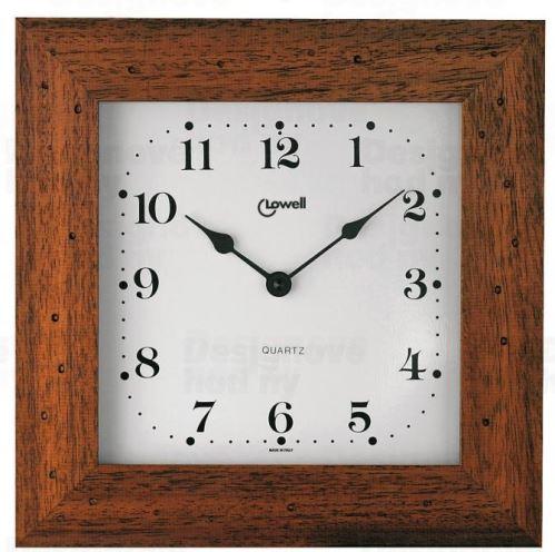 Dizajnové nástenné hodiny Lowell 01744NA Clocks 29cm