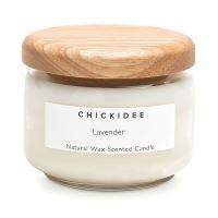 Vonná sviečka Lavender malá s dreveným viečkom 325 ml