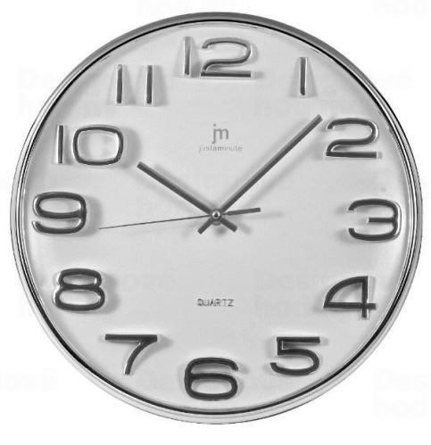 Dizajnové nástenné hodiny 00810B Lowell 33cm