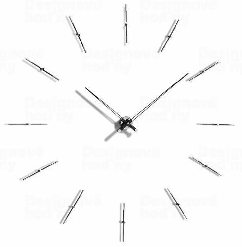 Dizajnové nástenné hodiny Nomon Merlin Wenge 125cm