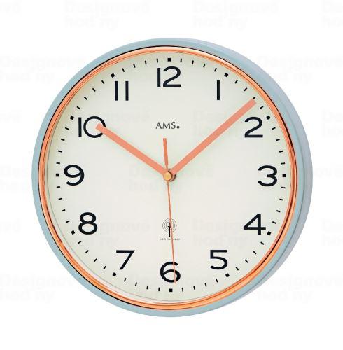 Nástenné hodiny 5509 AMS riadené rádiovým signálom 25cm