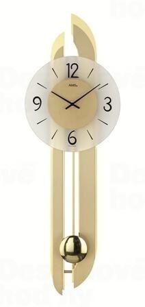 Kyvadlové nástenné hodiny 7331 AMS 71cm