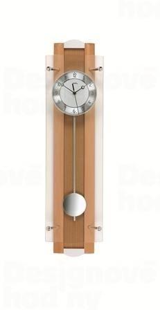Kyvadlové nástenné hodiny 5259/18 AMS riadené rádiovým signálom 66cm