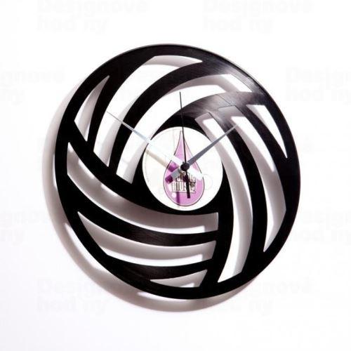 Dizajnové nástenné hodiny Discoclock 005 Pure Wool 30cm