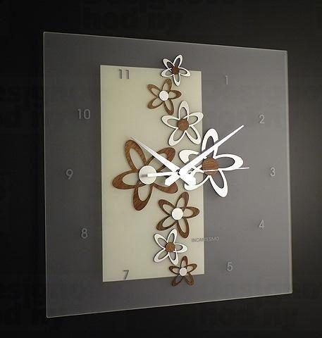 Dizajnové nástenné hodiny I076NC IncantesimoDesign 44cm