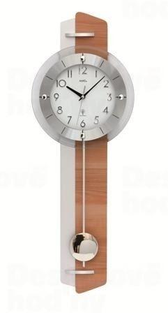 Kyvadlové nástenné hodiny 5271 AMS riadené rádiovým signálom 70cm