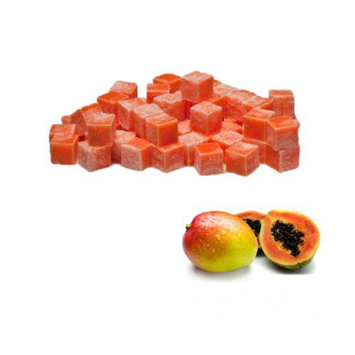Scented cubes vonnný vosk do aromalámp - mango & papaya, 8x 23g