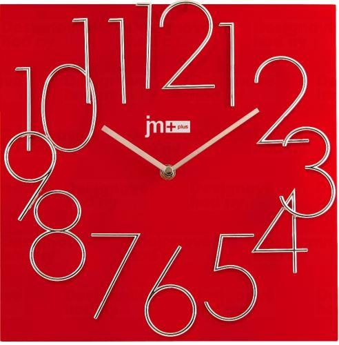 Dizajnové nástenné hodiny Lowell 14535R Design 30cm