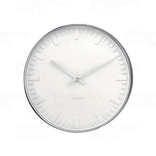 Dizajnové nástenné hodiny 4384 Karlsson 38cm