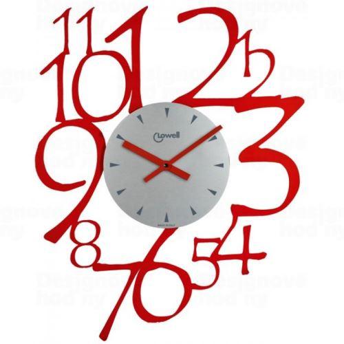 Dizajnové nástenné hodiny Lowell 05828 Design 50cm