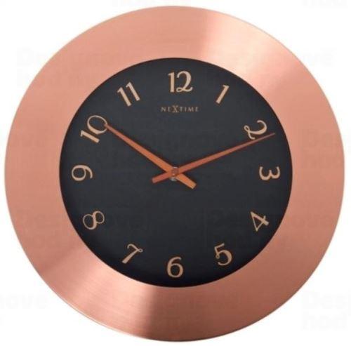 Dizajnové nástenné hodiny 2979 Nextime WINCHESTER 44cm
