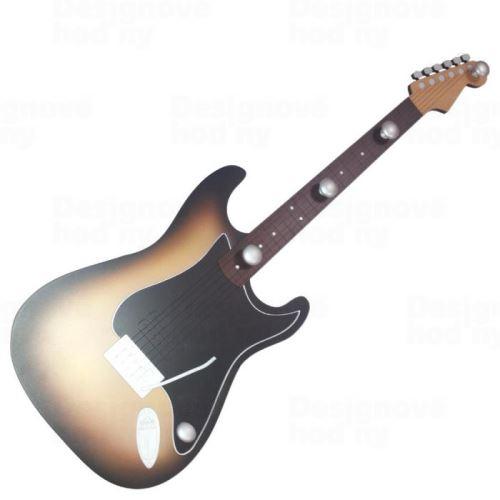 Vešiak gitara 1528 - dizajnový vešiak 90cm