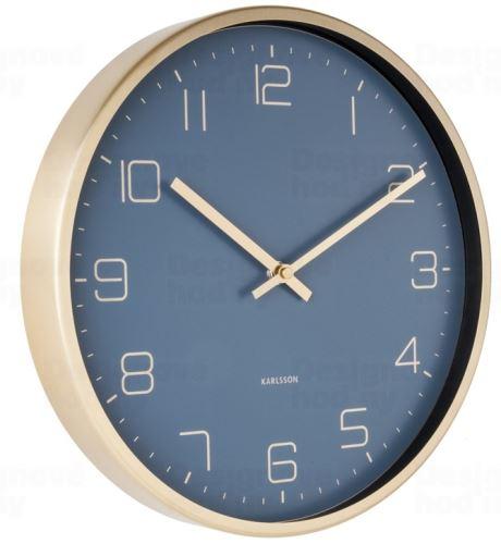 Dizajnové nástenné hodiny 5720BL Karlsson 30cm