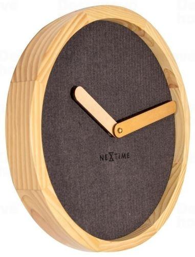 Dizajnové nástenné hodiny 3155br Nextime Jeans Calm 30cm