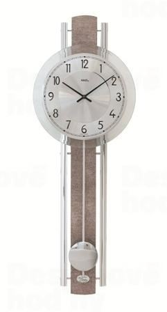 Kyvadlové nástenné hodiny 7382 AMS 66cm