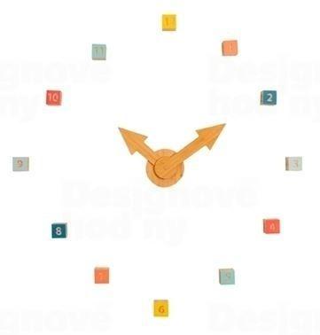 Dizajnové skladacie drevené hodiny JIP0858