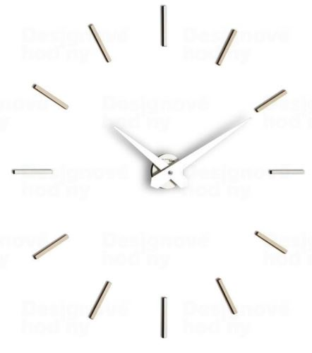 Dizajnové nástenné hodiny I200MT grey IncantesimoDesign 90-100cm