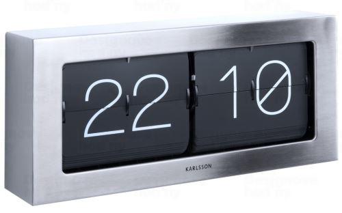 Dizajnové nástenné / stolové preklápací hodiny 5642ST Karlsson 37cm