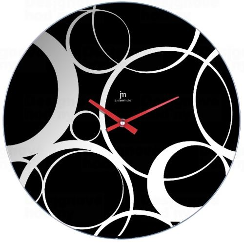 Dizajnové nástenné hodiny 14882 Lowell 38cm