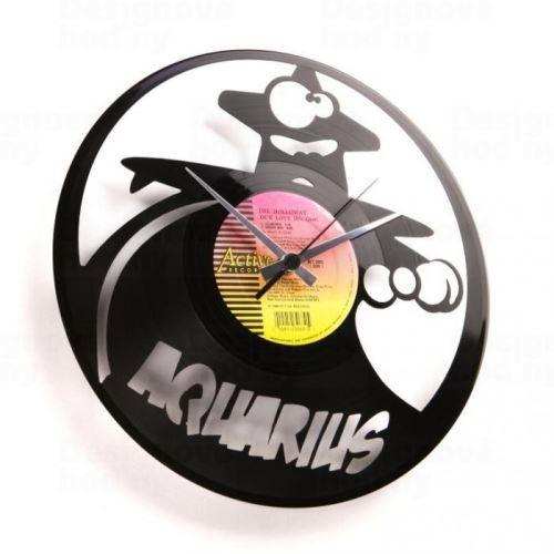 Dizajnové nástenné hodiny Discoclock Z11 Vodnár 30cm