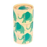 Pastelky v kartónovej tube Rex London z kolekcie ELEPHANT ELVIS