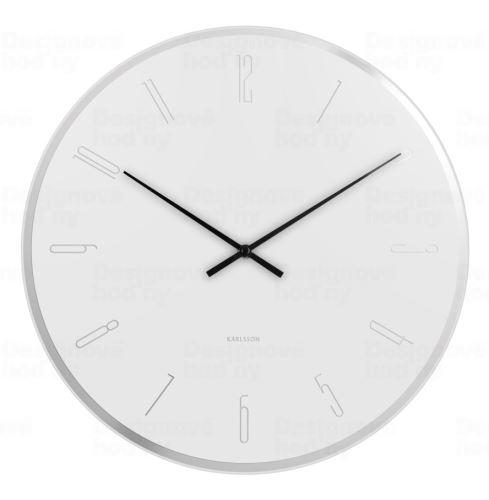 Dizajnové nástenné hodiny 5800WH Karlsson 40cm