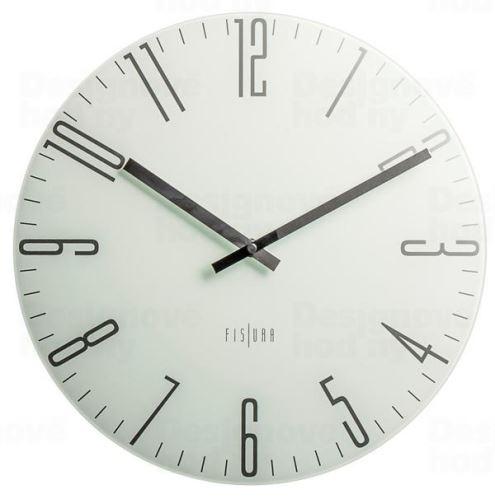 Dizajnové nástenné hodiny CL0070 fisúry 35cm