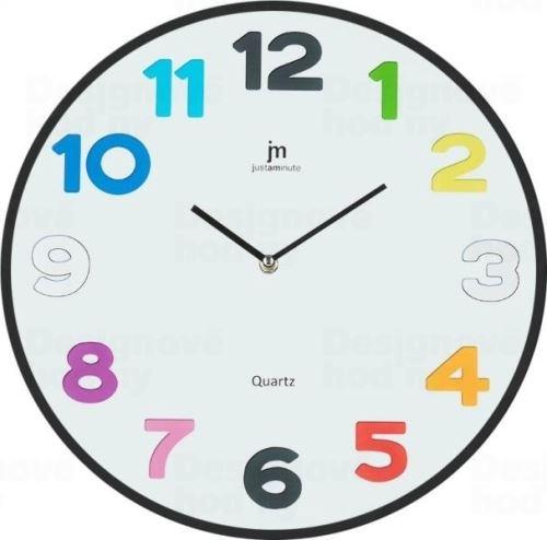 Dizajnové nástenné hodiny 14872 Lowell 38cm