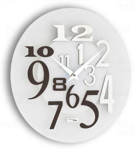 Dizajnové nástenné hodiny I036W IncantesimoDesign 35cm