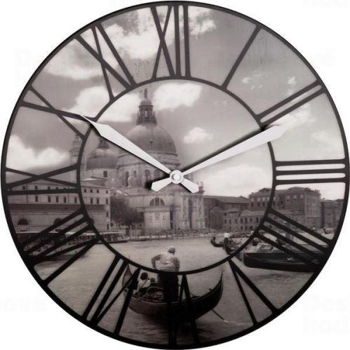 Dizajnové nástenné hodiny 3106 Nextime Venice 40cm