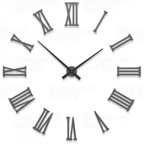 Dizajnové hodiny 10-310 CalleaDesign (viac farieb) Farba grafitová (tmavo šedá) - 3