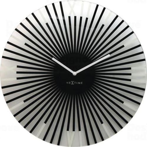 Dizajnové nástenné hodiny 8175zw Nextime Sticks 43cm