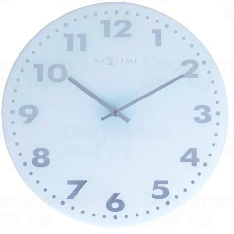 Dizajnové nástenné hodiny 2675 Nextime Little Flexa 35cm