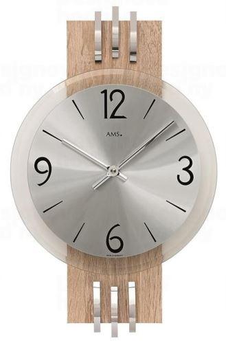 Nástenné hodiny 9228 AMS 38cm