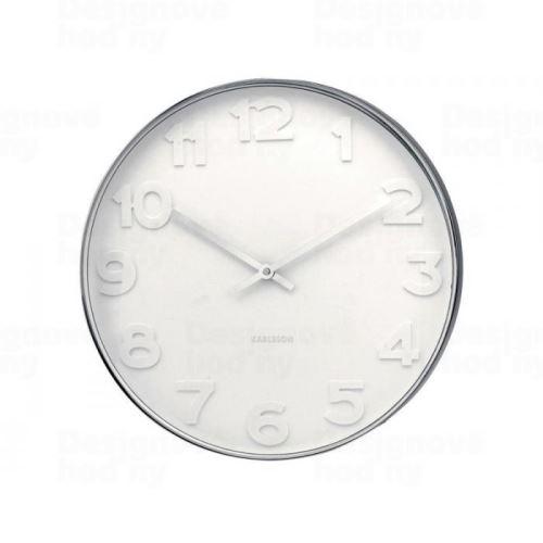 Dizajnové nástenné hodiny 4383 Karlsson 38cm
