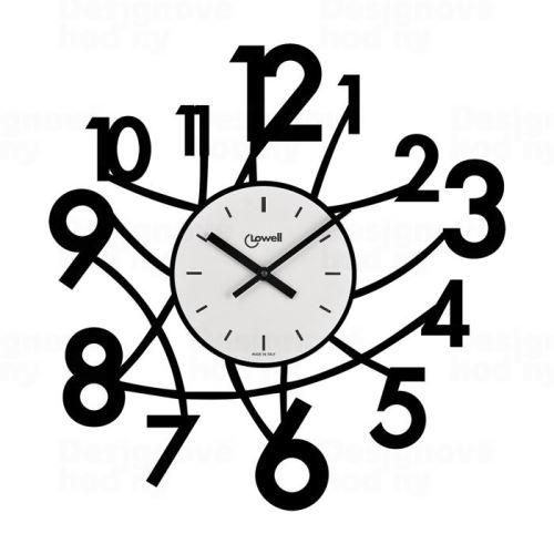 Dizajnové nástenné hodiny Lowell 05833N Design 50cm