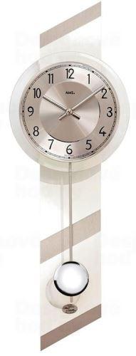 Kyvadlové nástenné hodiny 7414 AMS 69cm