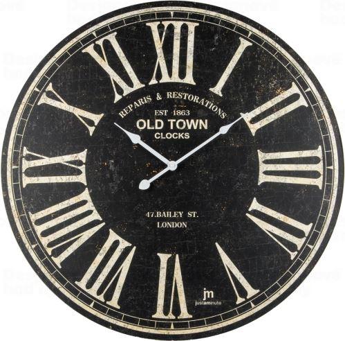 Dizajnové nástenné hodiny 21484 Lowell 60cm