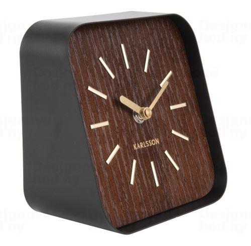 Dizajnové stolové hodiny KA5718DW Karlsson 15cm