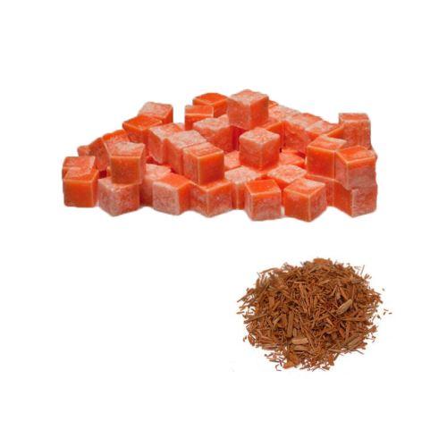 Scented cubes vonnný vosk do aromalámp - Sandalwood (sandálová drevo), 8x 23g